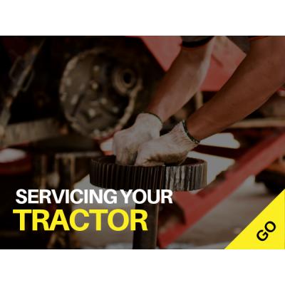 Servicing Tractors