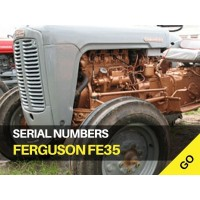 Ferguson FE35 Serial Numbers