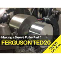 Ferguson TED20 - Making a Sleeve Puller Part 1 Tractor Video