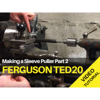 Ferguson TED20 - Making a Sleeve Puller Part 2 Tractor Video