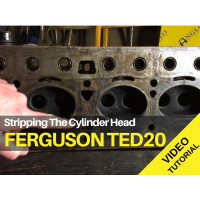 Ferguson TED20 - Stripping the Cylinder Head Tractor Video