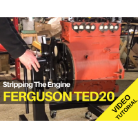 Ferguson TED20 - Stripping The Engine Tractor Video
