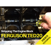 Ferguson TED20 - Stripping The Engine Block Tractor Video