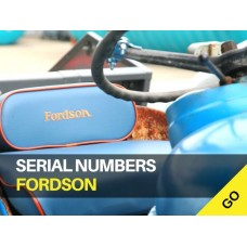 Fordson Serial Numbers
