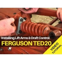 Ferguson TED20 - Installing Lift arms and Draft Control Video
