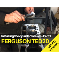 Ferguson TED20 - Cylinder Liners Part 1 - Video Tutorial
