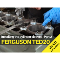 Ferguson TED20 - Cylinder Liners Part 2 - Video Tutorial