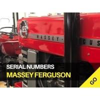Massey Ferguson Tractor Serial Numbers