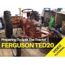 Ferguson TED20 - Preparing to Split The Tractor Video