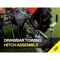 Cat 1 Tractor Drawbar Towing Hitch Assembly