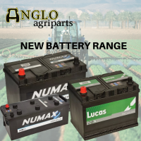 New Tractor Battery Range
