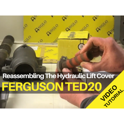 Ferguson TED20 - Reassembling the Hydraulic Lift Cover -Video