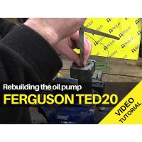 Ferguson TED20 - Rebuilding the Oil Pump - Video Tutorial