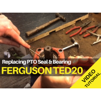 Ferguson TED20 - Replacing PTO Seal and Bearing Video