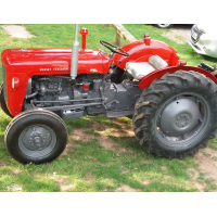 Massey  Ferguson 35  Restoration - Bill Collinson
