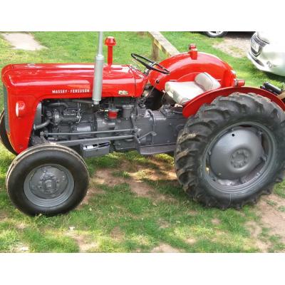Massey  Ferguson 35  Restoration - Bill Collinson