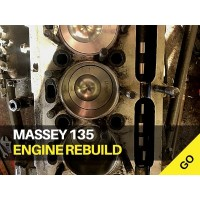 Massey 135 Engine Rebuild