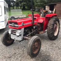 Massey Ferguson 135 Restoration - Adam Graham