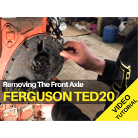 Ferguson TED20 - Removing The Front Axle Tractor Video