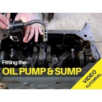 Ferguson TED20 - Fitting The Oil Pump And Sump - Video Tutorial