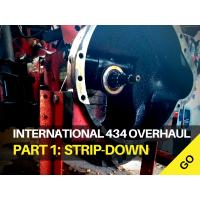 International Harvester 434 Major Works Part 1 – Initial Strip-down