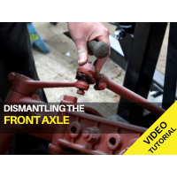 Ferguson TED20 - Dismantling the Front Axle - Video Tutorial