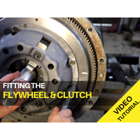 Ferguson TED20 - Fitting the Flywheel and Clutch - Video Tutorial