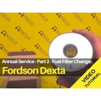 Fordson Dexta Service Video Tutorial - Part 2 - How To Change A Fuel Filter