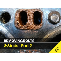 Removing Broken Studs and Bolts - Part 2