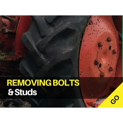 Removing Broken Studs and Bolts - Tractors