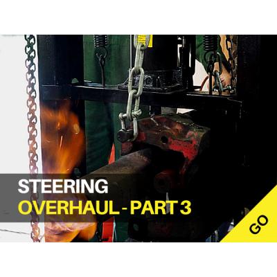 Tractor Steering Overhaul Part 3 - Front Axle Pivot