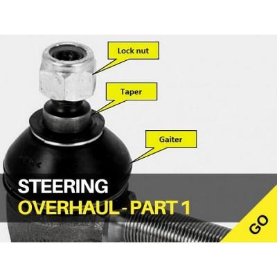 Tractor Steering Overhaul Part 1