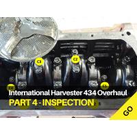 International Harvester 434 Major Works Part 4 - Strip, Clean & Initial Inspection