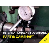 International Harvester 434 Major Works Part 6 - Camshaft