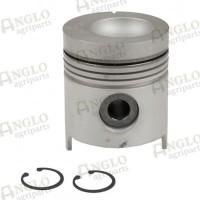 Piston & Pin - Length 129.04mm, Al-Fin Ring