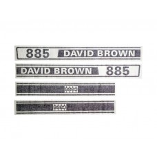 Decal Set - David Brown 885