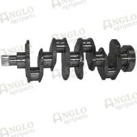 Crankshaft - A4.236 / A4.248 - Lip Seal Balancer Weight (3 Bolt)