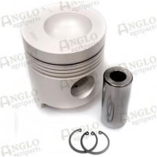 Piston & Pin - Length 134.2mm Al-Fin Ring