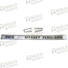 Decal Set - Massey Ferguson 365