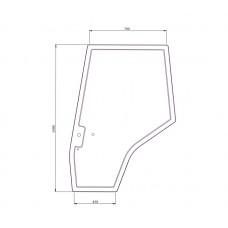 Cab Glass - Curved RH Door