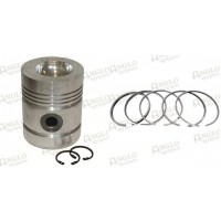 Piston & Rings - A4.236 Engine, 5 Ring