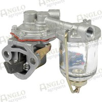Fuel Lift Pump - 2 Bolt Mounting - With Glass Bowl