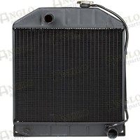 Radiator - Ford New Holland - For Tractors Without Oil Cooler