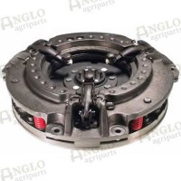 Clutch Cover inc PTO Plate 11/9inch Dual 6 Red Springs