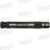 """Spindle Shaft - 340mm Long, 48mm O/D, 5/8"""" Screw for Arm"""
