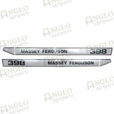 Decal Set - Massey Ferguson 398