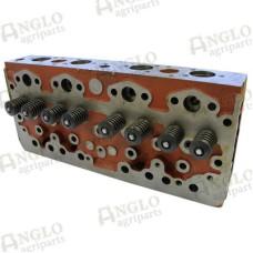 Cylinder Head - Perkins A4.203 - c/w Valves