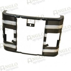 """Front Grille  With Lamp Holes - 13"""" Massey Ferguson"""
