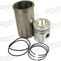 Piston, Ring & Liner Kit - Non Al Fin Piston
