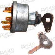Switch Ignition & Heating - 5 Terminal -  Neutral + Ign. 1 + Ign. 2 + Heat + Start